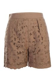 Short With Embroided Details