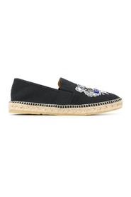 tiger embroidery espadrilles