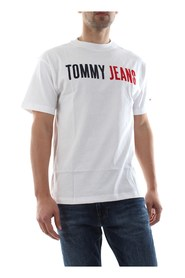 TOMMY JEANS DM0DM05550 JEANS TEE T SHIRT AND TANK Men WHITE