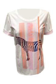 T-shirt kleurrijke zebra ES 4843J32