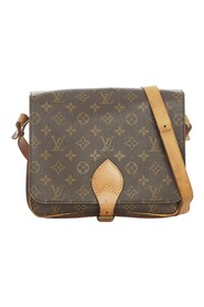 Pre-owned Monogram Cartouchiere MM Canvas