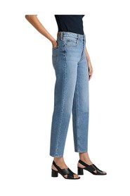 Cropped Straight Jeans