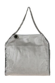 women's shoulder bag  falabella small tote shaggy deer