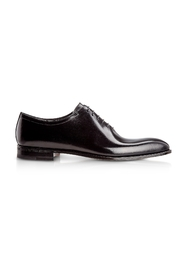 Antiqued Calfskin Oxford Shoes