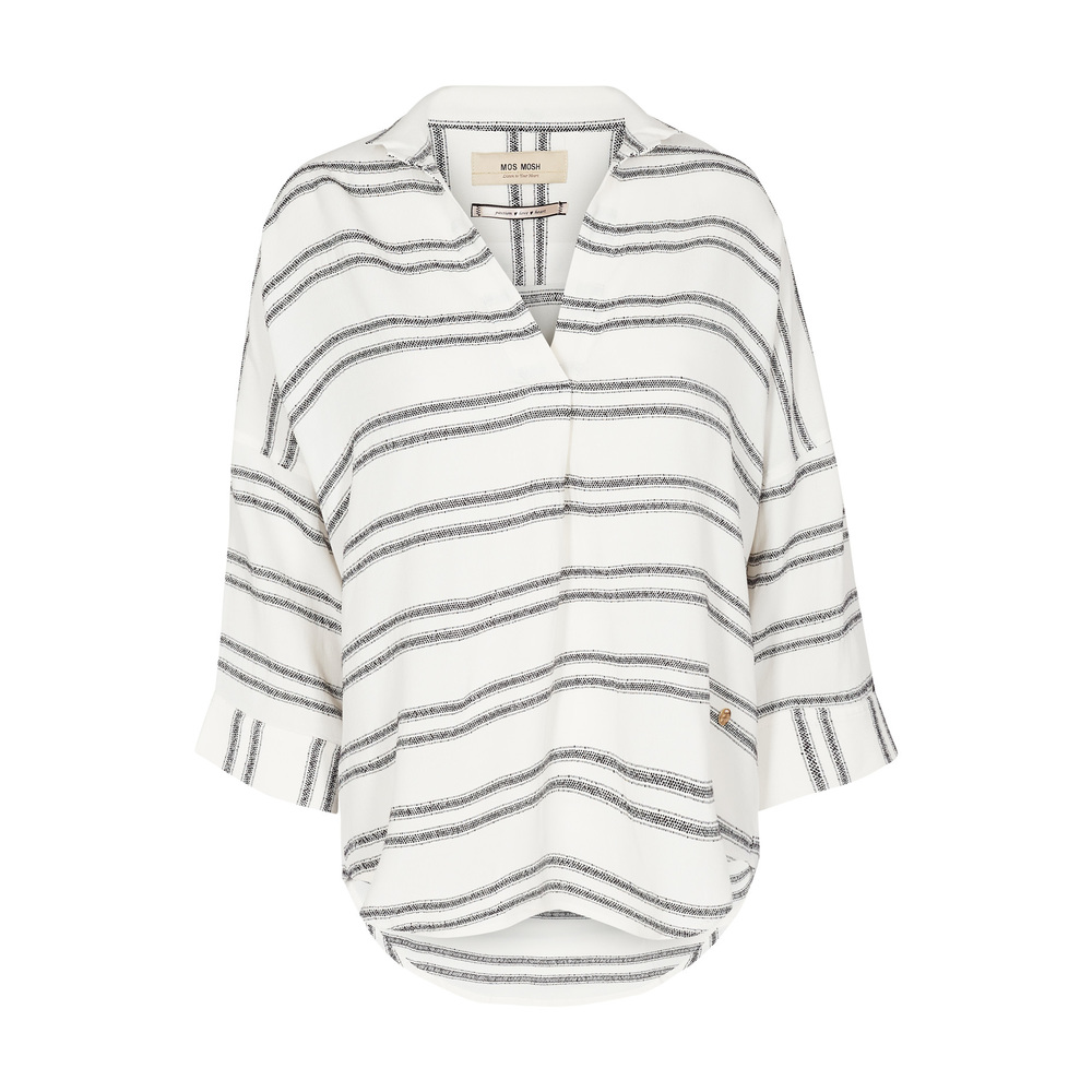 White Mos Mosh Nava Stripe Blouse