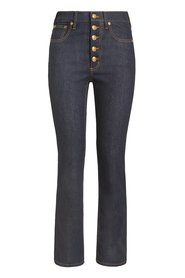 Button-Fly Denim Pant