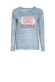 Ile de re crabe stripe t-shirt