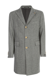 CLASSIC COAT W/GOLD BUTTONS