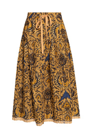 Skirt with tie detail
