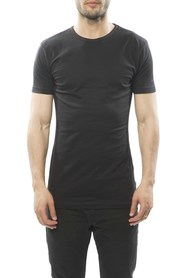 Claesens Men T-Shirt Round neck Black ( 1020 two-pack)