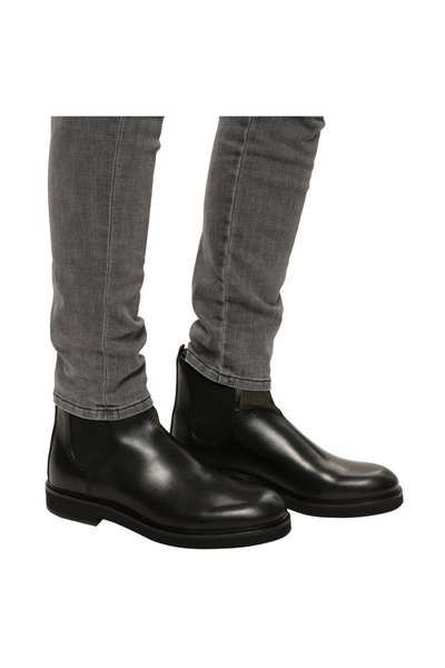 BLACK Leather ankle boots | PS By Paul Smith | Boots