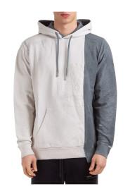 men's hoodie sweatshirt sweat tie-dye