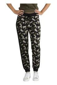 Pantalone Camouflage In Lurex®
