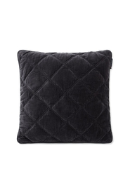 Quilted Cotton Velvet Pillow