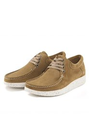 Anna Suede - Moss Green/White 1001-002-117 - Nature Footwear