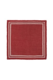 N°449 wool and cashmere square scarf