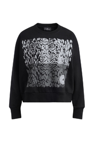 Sweatshirt with spotted graphics