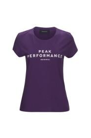 Lilla Peak Performance Logo T-skjorte