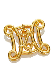 Pre-owned Gold-Tone Brooch