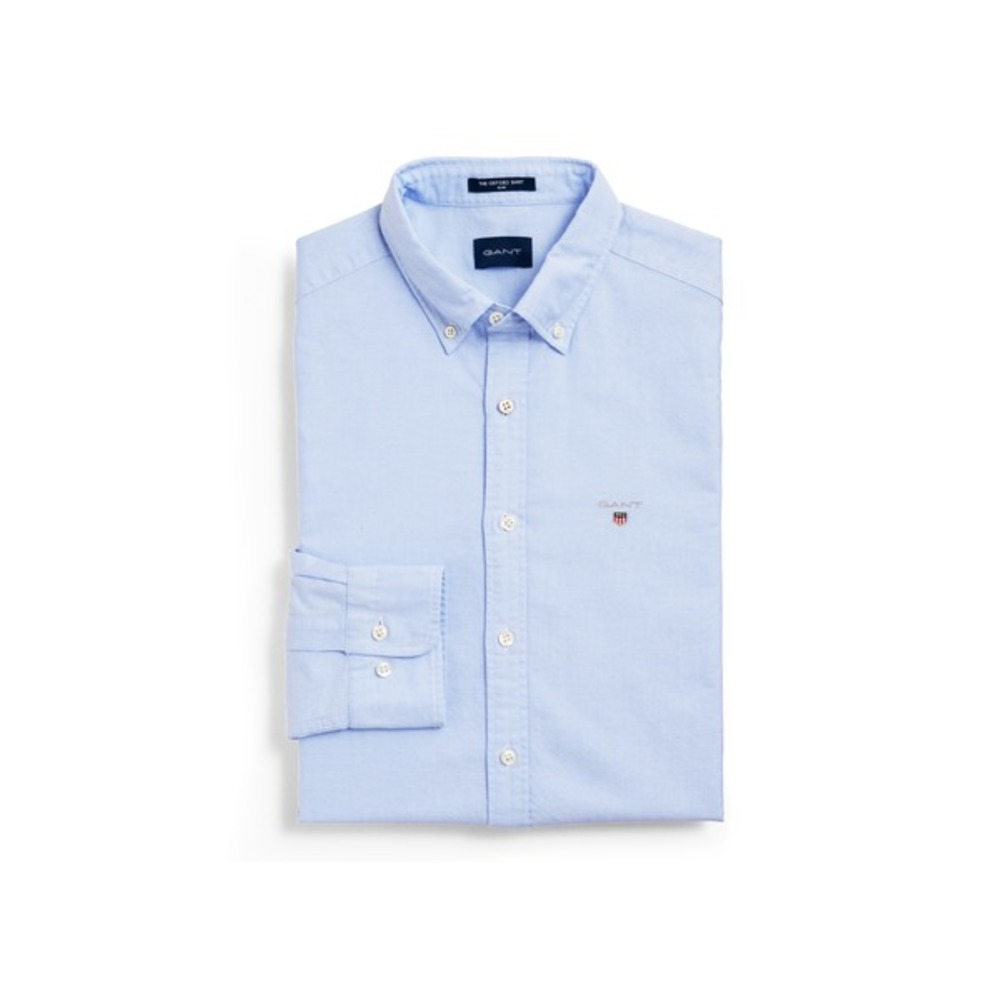 Light Blue Oxford Banker Dame Klassisk Skjorte | Gant