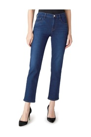 Adele Mid-Rise Straight Jeans