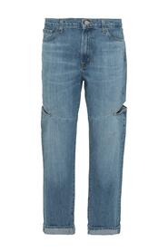 Jeans with Cut