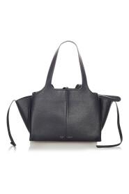 Begagnade Medium Trifold Leather Tote Bag