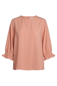 3/4 sleeved top Solid