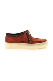 Wallabee cup lace-up shoes
