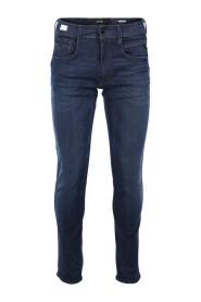Blå Replay Hyperflex Anbass Jeans Jeans