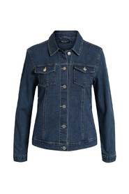 Denim Jakke Med Strech jacket