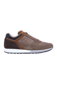 Sneakers w tkaniny welurowej i H321