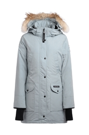Parka ice-colored Trillium model with hood