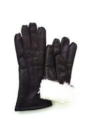 Varmt handsker Skindskindshandsker Lambskinhandsker Håndlavet mørkebrun