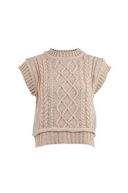 Malley Cable Knit Waistcoat