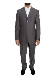 Two Piece 3 Button Wool Suit