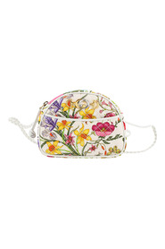 Mini Flora Zumi Canvas Crossbody Bag