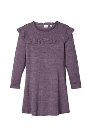 Dress knitted wool