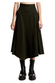 SEAMED SPIRAL SKIRT