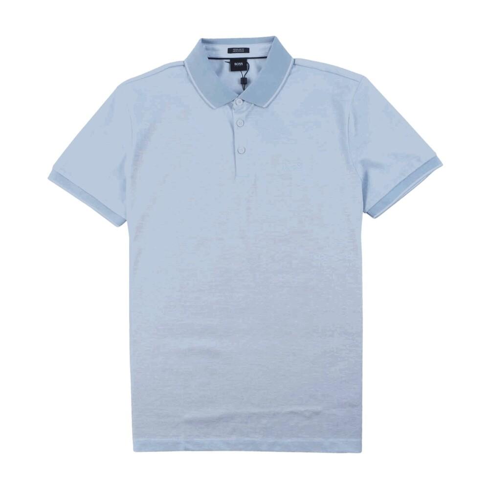 Regular Fit Mercherised Polo Light Blue