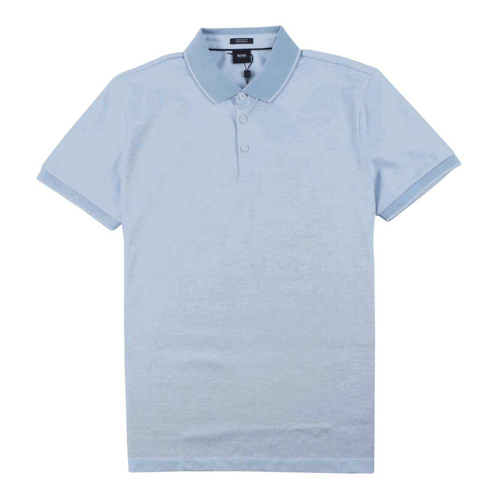 Regular Fit Mercherised Polo Light Blue