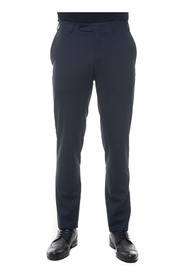 Trousers with slip pocket