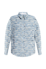 Open-knit shirt