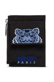 Crossbody Cardholder with Tiger
