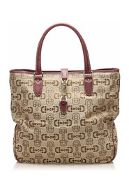Pre-owned Guccissima New Jackie Tote Bag