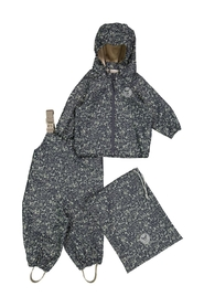 Rainwear Jacket and Pants with Braces Charlie Ink Maritime
