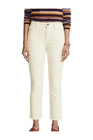 Casual Pants Corduroy Stretch
