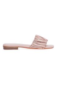fuxia sandals
