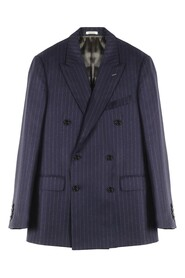 Chalk Stripe Double Breasted Suit