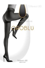 Mørk blå OROBLU Different 80 Comfort Tights